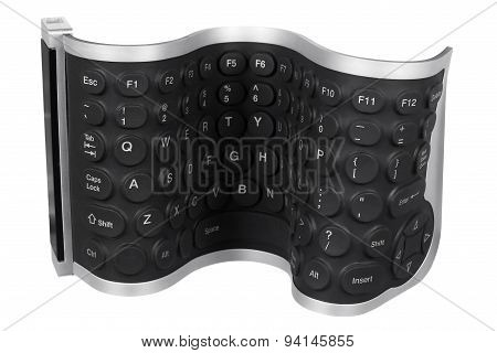 Flexible Computer Keyboard