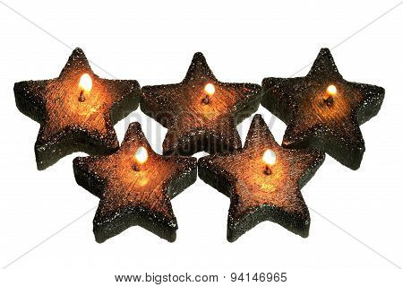 Star-shaped Candles