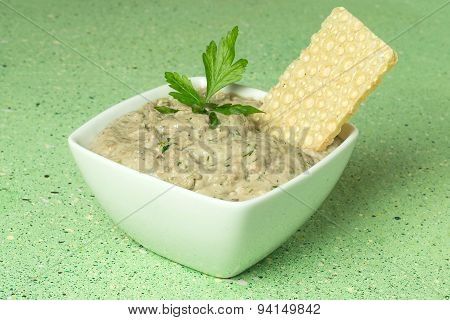 Home Sardine Pate And Crisp Wafer Bread