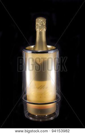 Bottle In Wine Cooler