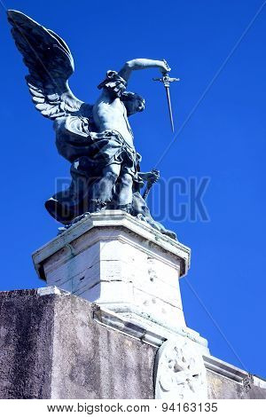 Statue Archangel of Saint Michael