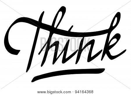 word Think