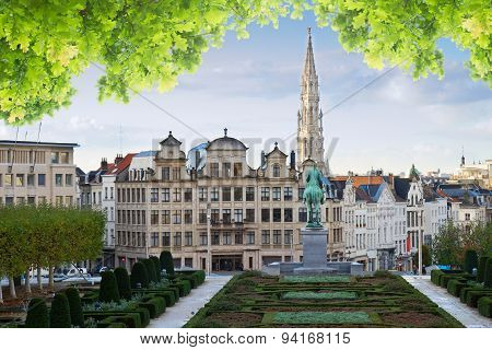 Brussels cityscape