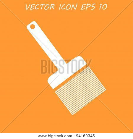 Paint Brush Icon - Vector