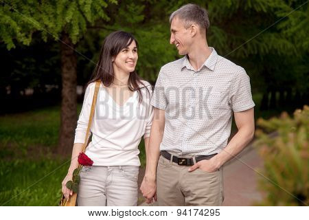 Couple Having Fun Together