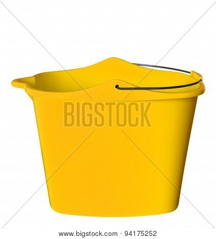 Plastic Bucket - Yellow