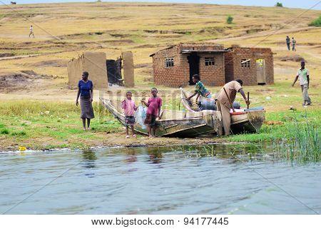 Uganda, Kazinga Channel