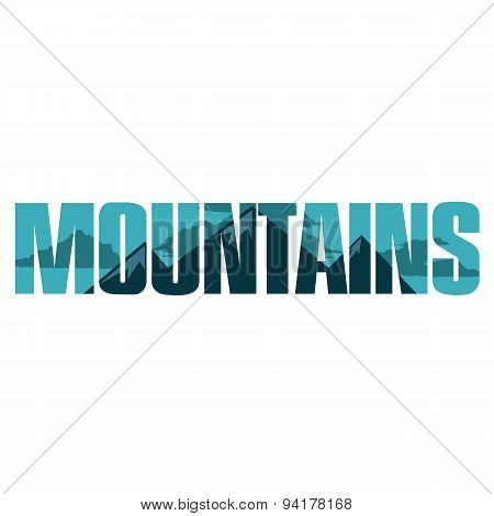 Mountains Sign