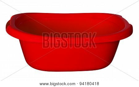 Bath Tub - Red