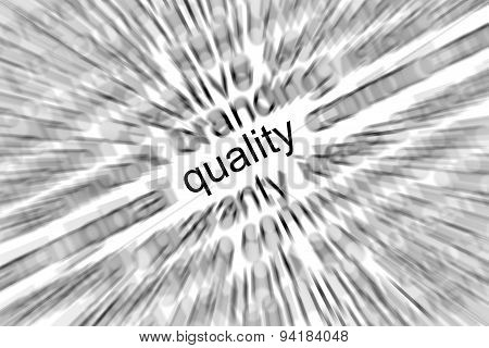 Quality Focus Concept