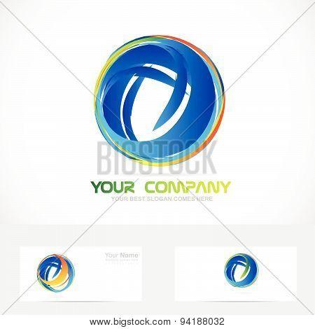 Sphere circle logo