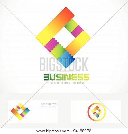 Business arrow logo
