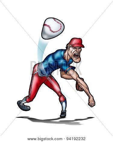 Extreme baseball player