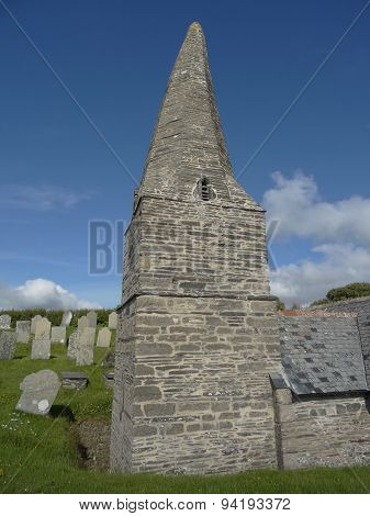 St Enodoc Church And Graveyard