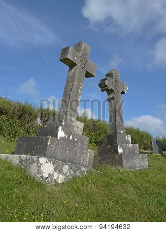 Church Graveyard Of St Enodoc Church