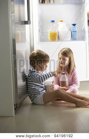 Children Raiding The Fridge