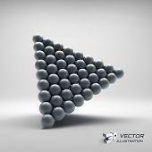 pic of pyramid  - Pyramid of balls - JPG
