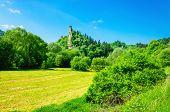 picture of castle  - Orava castle tower - JPG