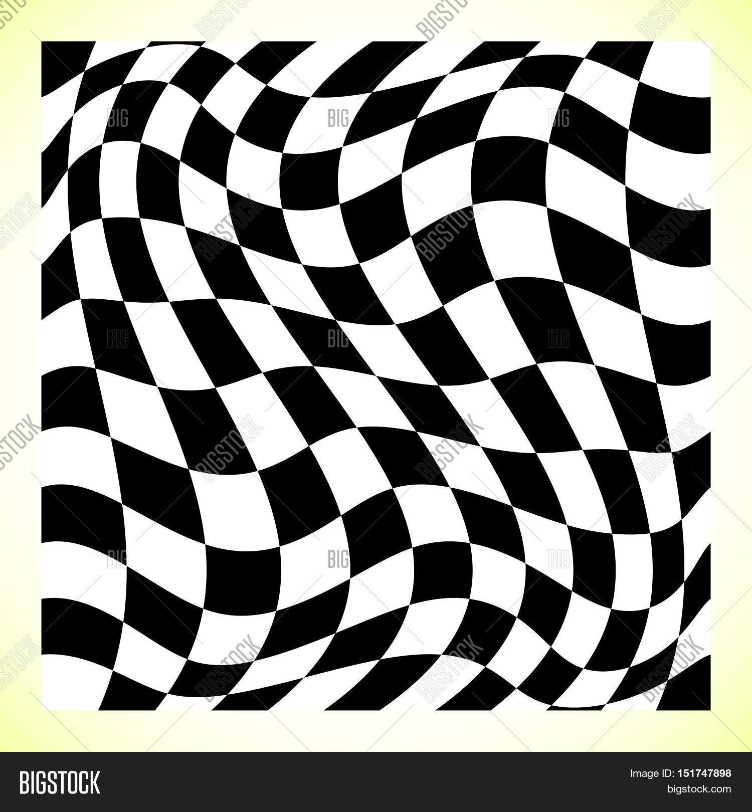 Checkered Design Checkered Pattern Chess Board Checker Board With Distortion