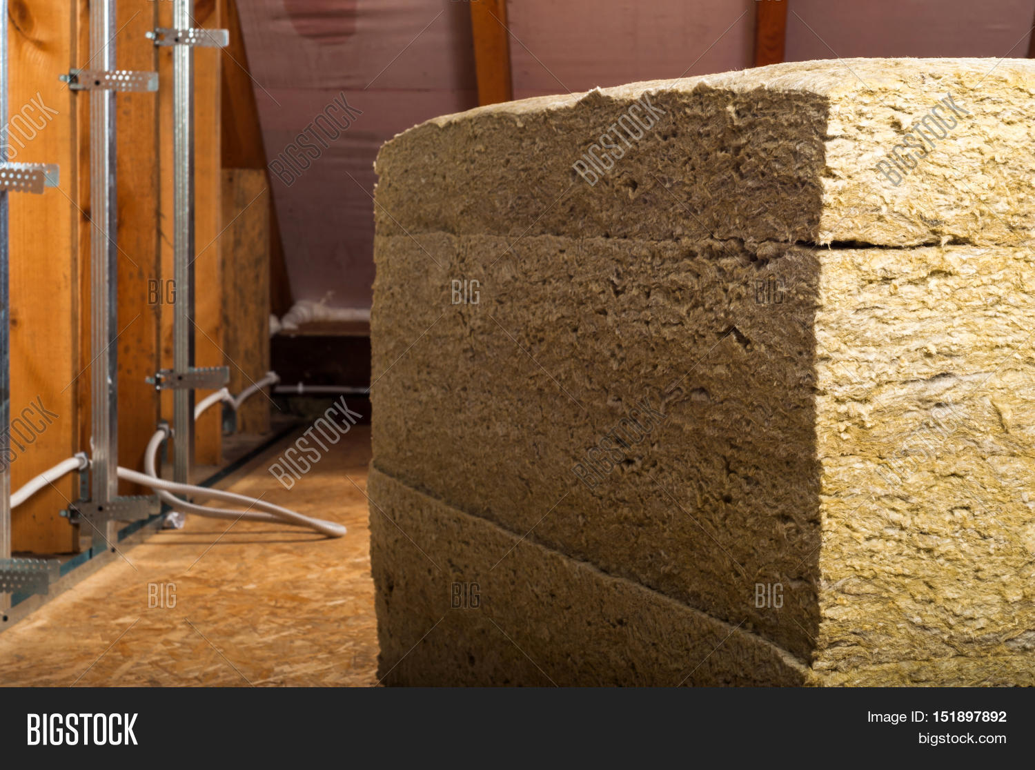 Rockwool attic insulation images for Wool house insulation