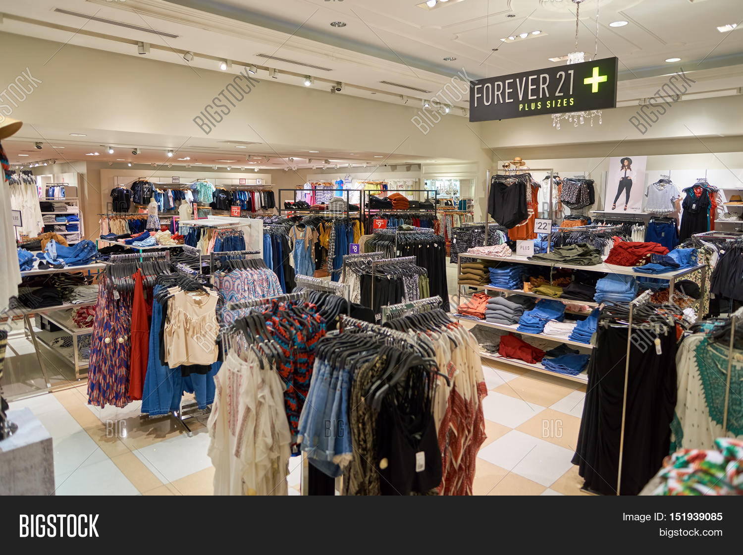 Forever 21 clothes store