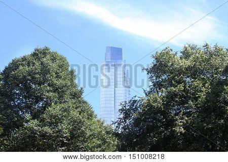 Millenium tower in Boston, United States of America