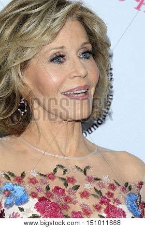 LOS ANGELES - OCT 8:  Jane Fonda at the 2016 Carousel Of Hope Ball at the Beverly Hilton Hotel on October 8, 2016 in Beverly Hills, CA