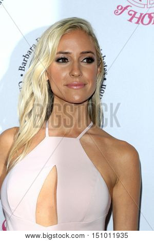 LOS ANGELES - OCT 8:  Kristin Cavallari at the 2016 Carousel Of Hope Ball at the Beverly Hilton Hotel on October 8, 2016 in Beverly Hills, CA
