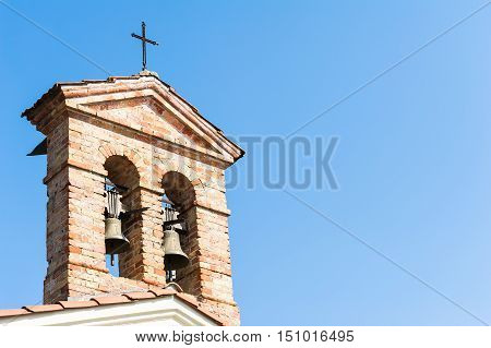 Small Bell Tower With A Bell