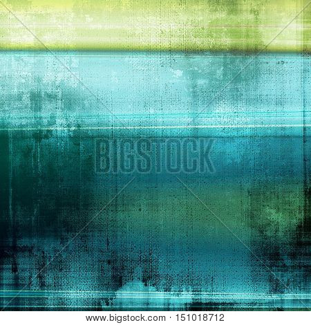 Antique frame with grunge background. With different color patterns: yellow (beige); gray; green; blue; cyan