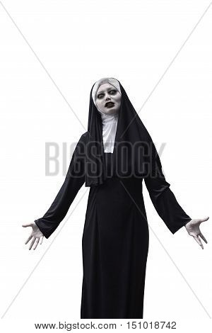 Asian Woman Devil Nun
