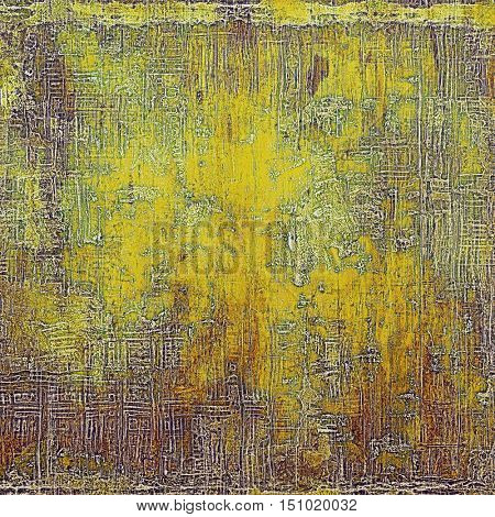 Retro background, antique texture for abstract vintage design composition. With different color patterns: yellow (beige); brown; gray; green; red (orange)