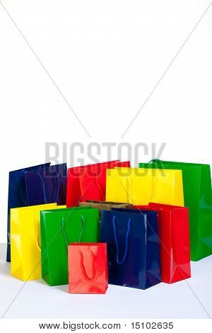 Bunch Of Shopping Bags