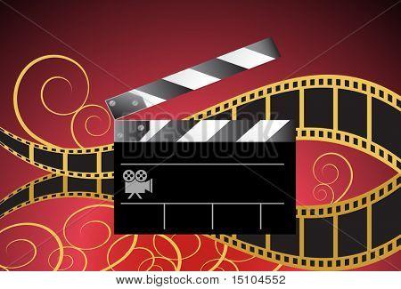Film Schiefer-Hintergrund