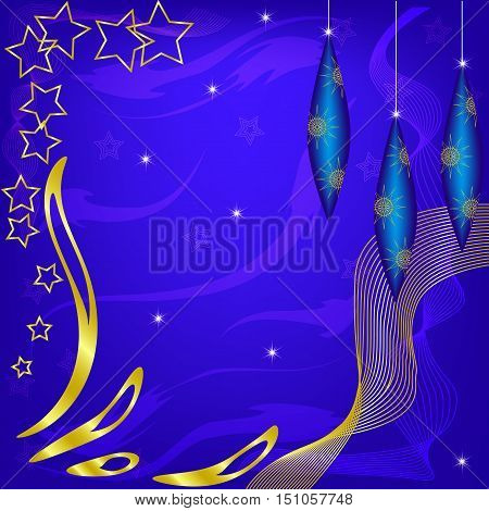 New Year's vector background. Christmas background. Happy New year.