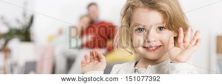 Bliss Derived From Joy Of Child