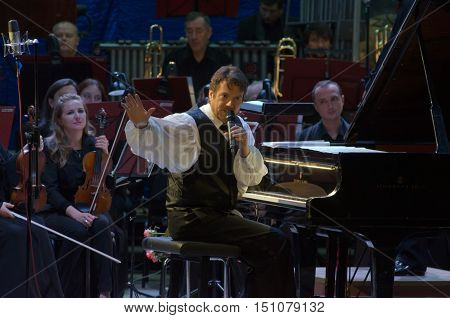 Calvin Jones And Dnipro Symphonic Orchestra