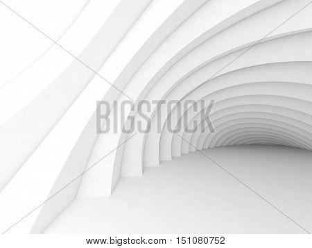 Abstract Geometric Digital Interior 3D