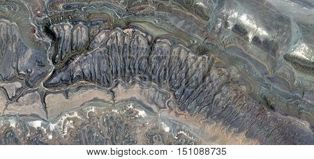 cracks in the stone, fantasy landscape eroded by water, abstract photography deserts of Africa from the air, rock formations bird's eye view, Abstract Naturalism, Broken stone textures,
