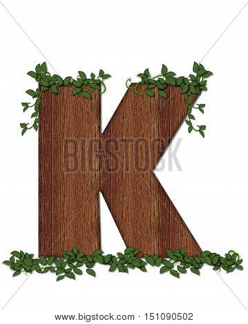 Alphabet Deep Woods K