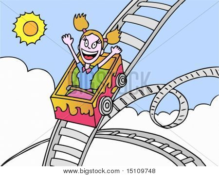 roller coaster girl