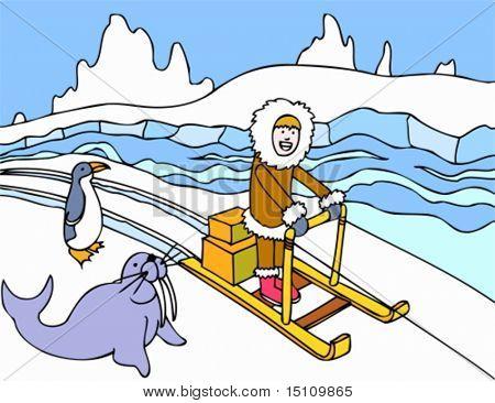 Eskimo Schlitten