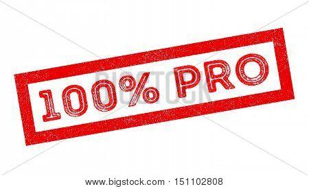 100 Percent Pro Rubber Stamp