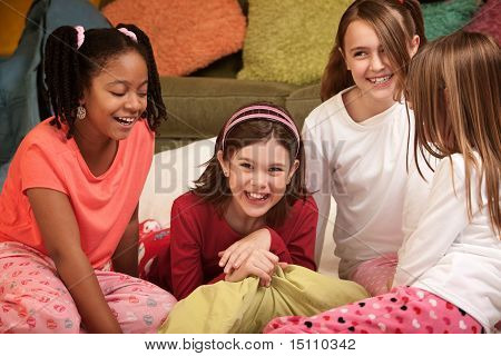 Four Little Girls