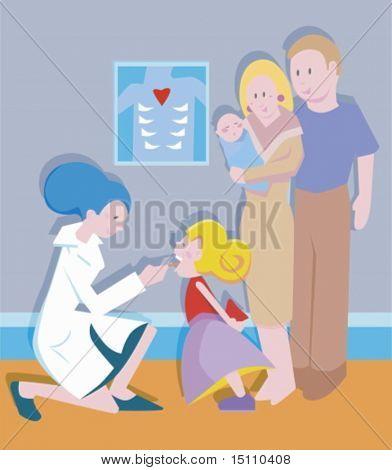 tonsil exam