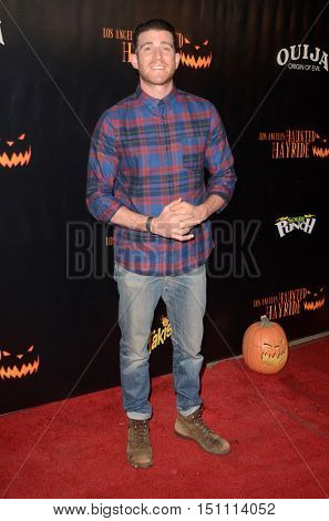 LOS ANGELES - OCT 9:  Bryan Greenberg at the Haunted Hayride 8th Annual VIP Black Carpet Event at the Griffith Park on October 9, 2016 in Los Angeles, CA