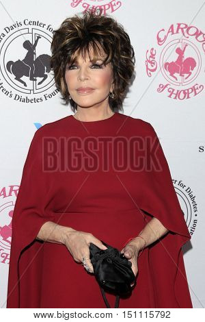 LOS ANGELES - OCT 8:  Carole Bayer Sager at the 2016 Carousel Of Hope Ball at the Beverly Hilton Hotel on October 8, 2016 in Beverly Hills, CA