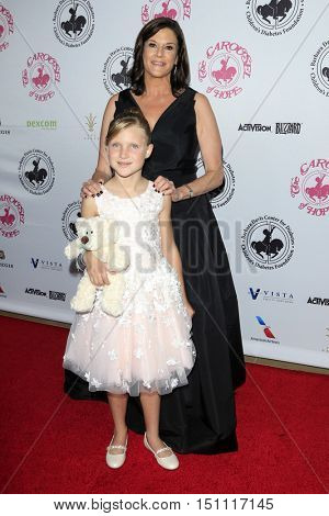 LOS ANGELES - OCT 8:  Margot Rea, Guest at the 2016 Carousel Of Hope Ball at the Beverly Hilton Hotel on October 8, 2016 in Beverly Hills, CA