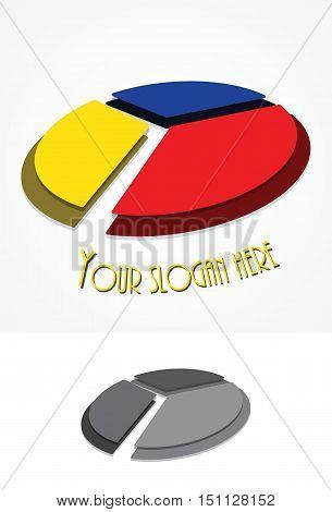 Letter Y symbol creative logo company design vector