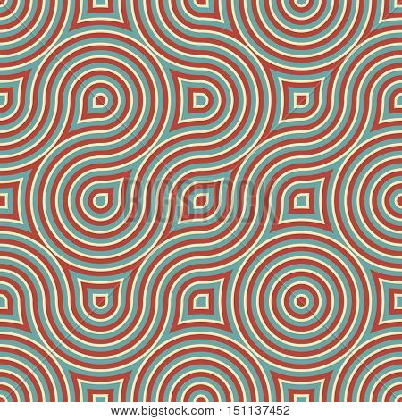 Abstract vector ornamental background